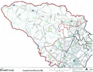 Trent Kittleman House Of Delegates A - Us delegates map